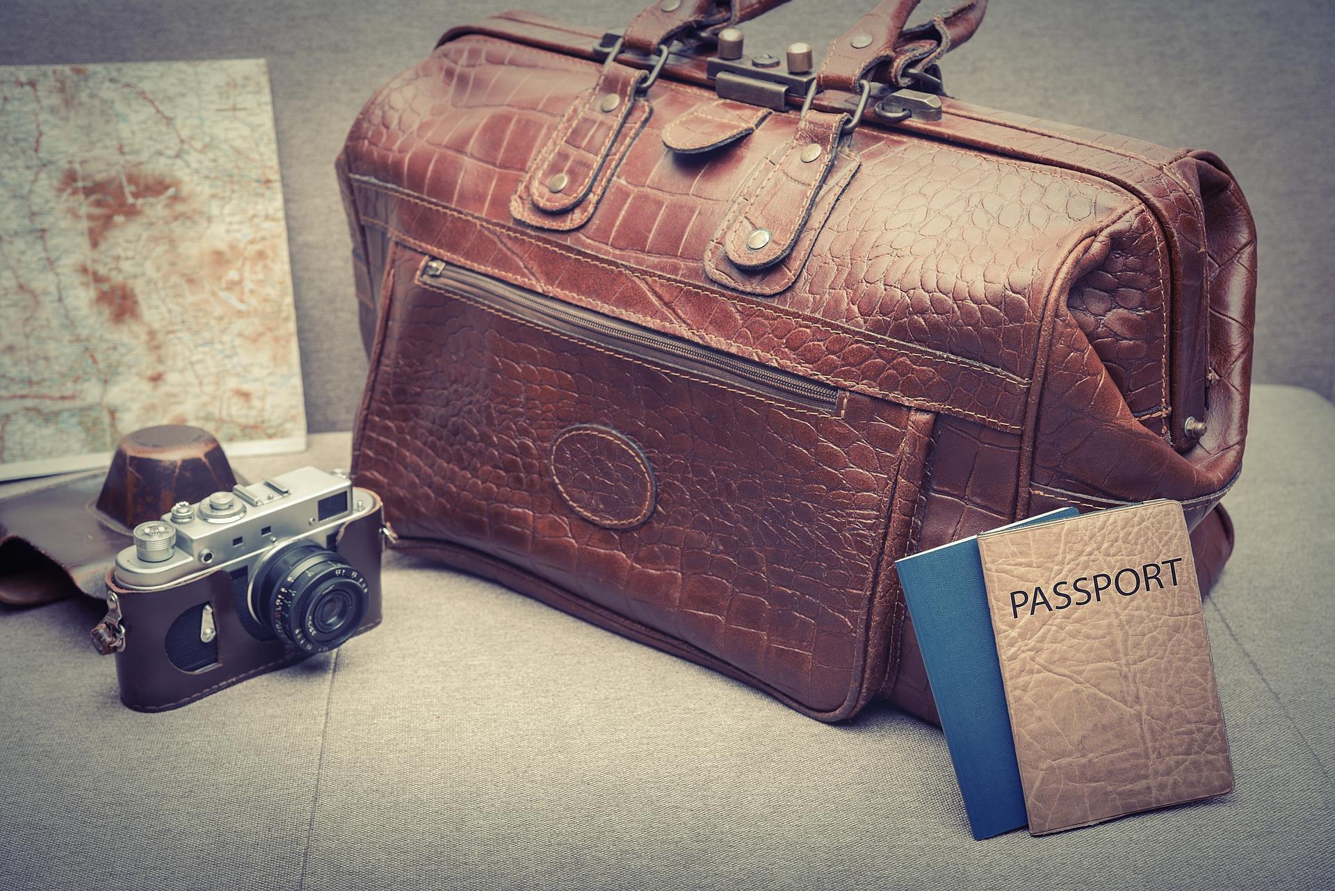 elegancka torba podróżna